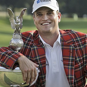 Zach Johnson won the Crowne Plaza Invitational at Colonial on May 30.