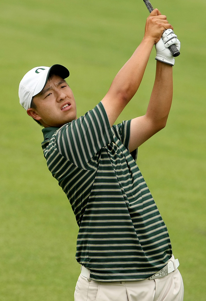 Oregon's Eugene Wong beat Washington's Nick Taylor, 1 up.