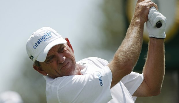 Nick Price at the Senior PGA Championship.