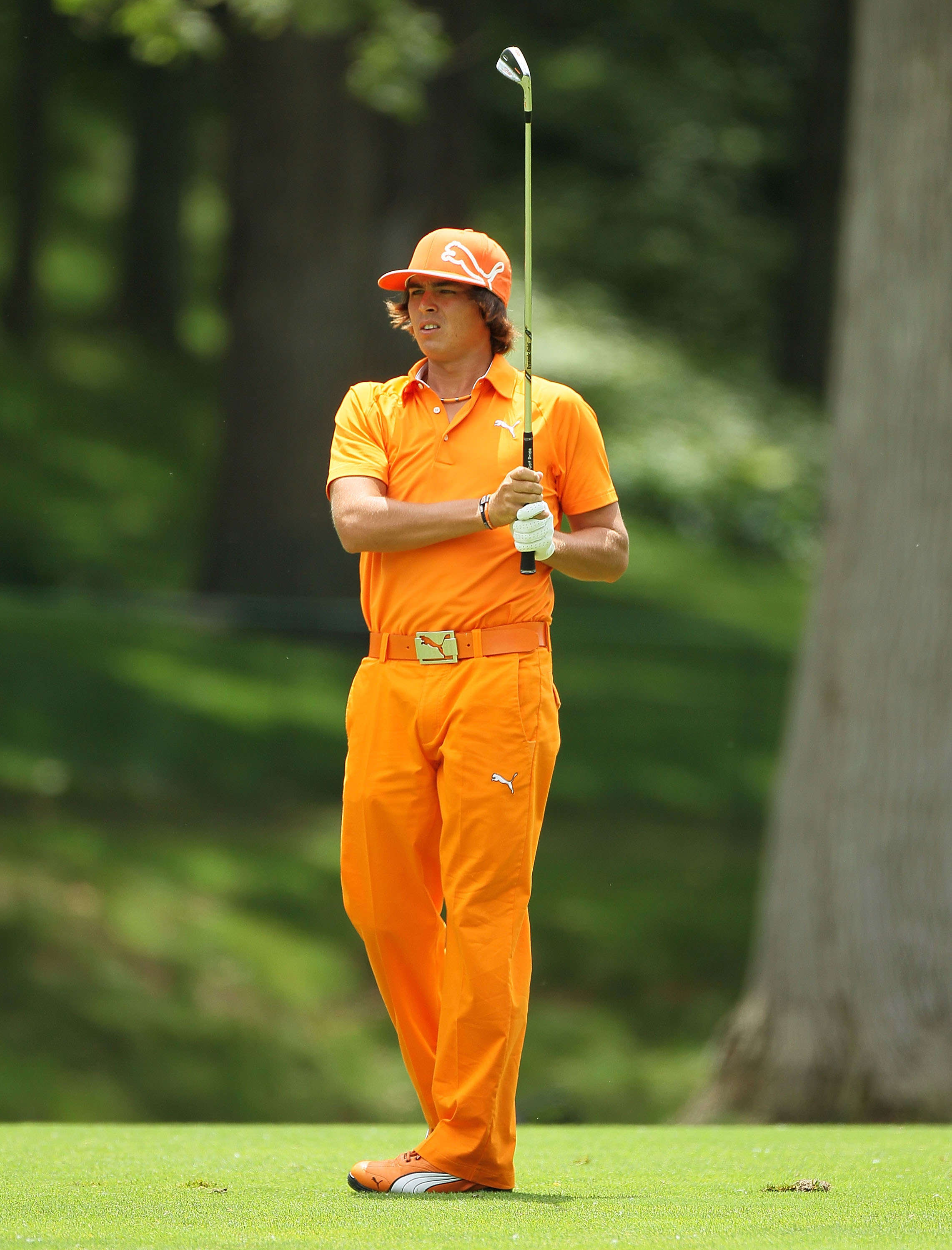 Rickie Fowler during the final round of The Memorial Tournament.