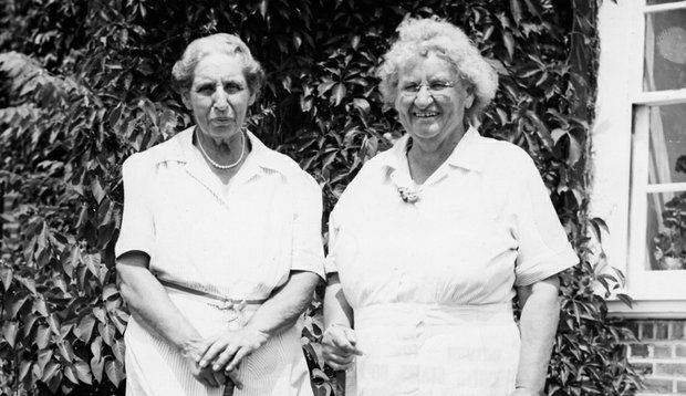 The Curtis Cup gets its name from sisters Harriot (left) and Margaret Curtis, whose social conscience transcended the game.
