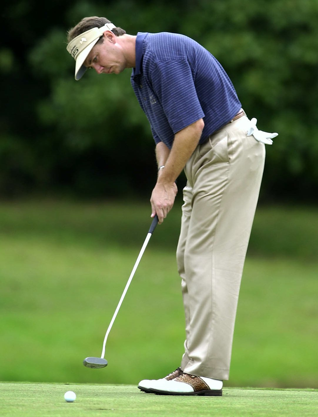 Jerry Smith during the 2001 National Car Rental Golf Classic.