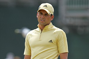 Sergio Garcia during the final round of the 2006 British Open.