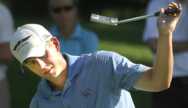 Brad Benjamin at the 2009 Illinois State Amateur.