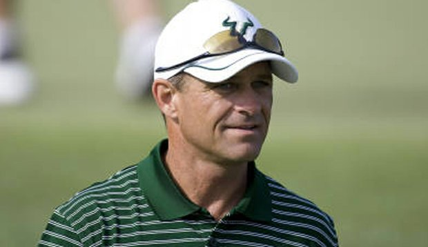 Jim Fee has been at the helm of the USF men's golf team since 1996.