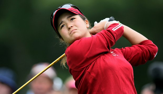 Kimberly Kim at the 2010 Curtis Cup.