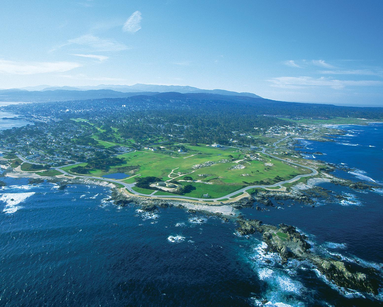 Pacific Grove's back nine hugs the ocean.