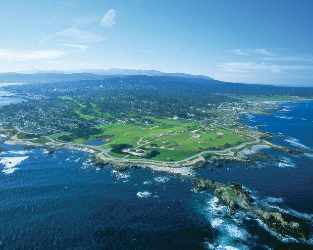 Pacific Grove's back nine hugs the ocean.