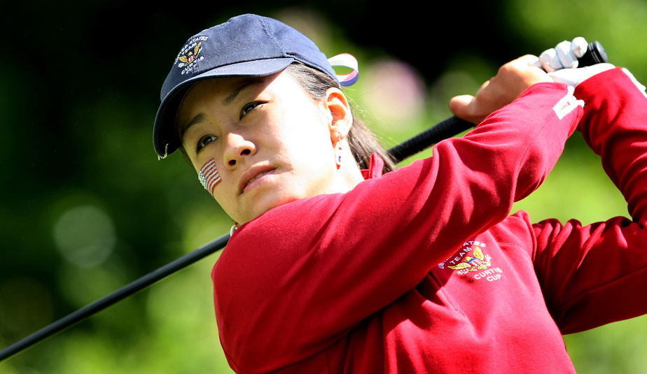 Stephanie Kono during the 2010 Curtis Cup.