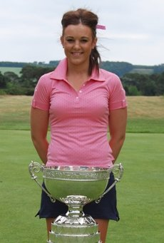 Kelly Tidy won the 2010 Ladies' British Amateur Championship.