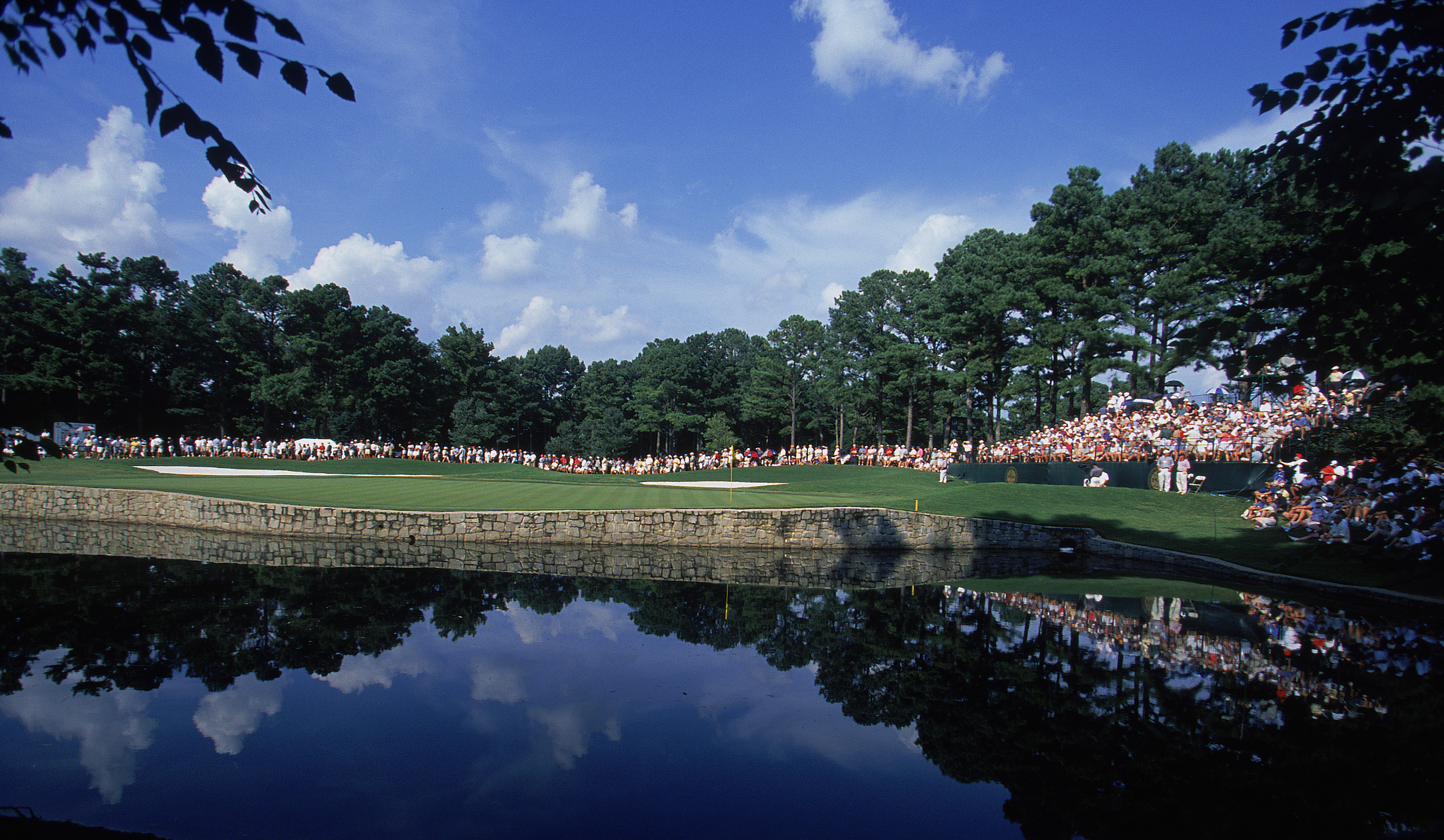 Atlanta Athletic Club during the 2001 PGA Championship.