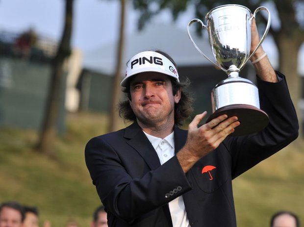 Bubba Watson won the Travelers Championship on June 27.
