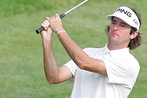 Bubba Watson during the final round of the Travelers Championship.