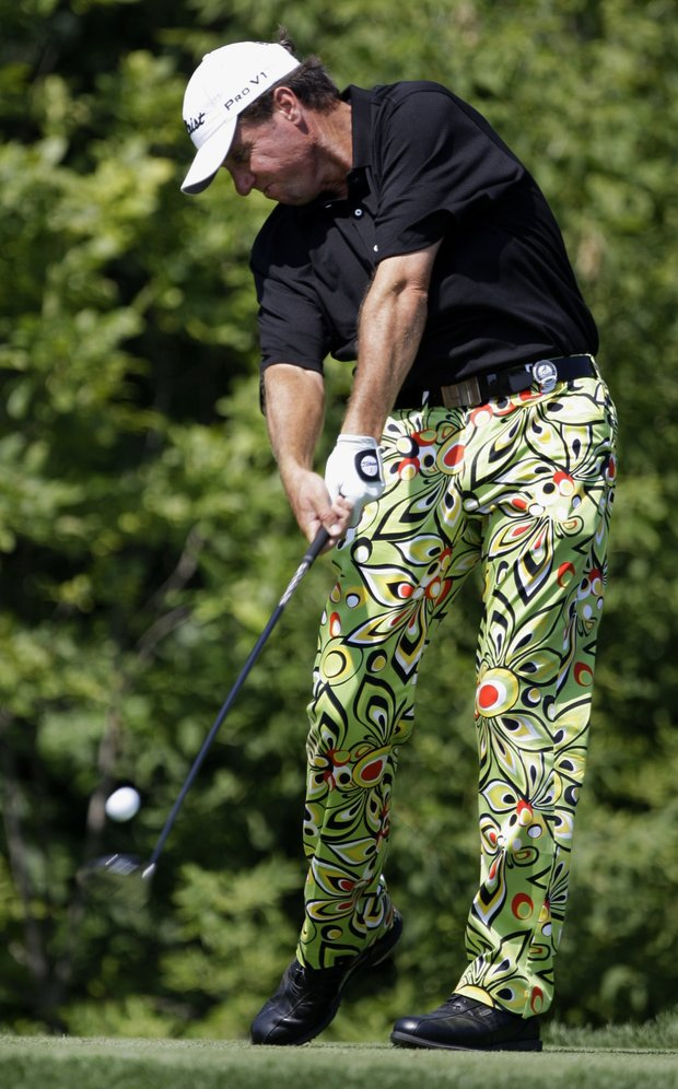 Mitch Lowe at the 2009 PGA Championship.