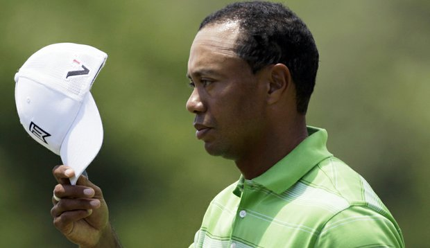 Tiger Woods shot a 70 in Round 2 of the AT&T National.