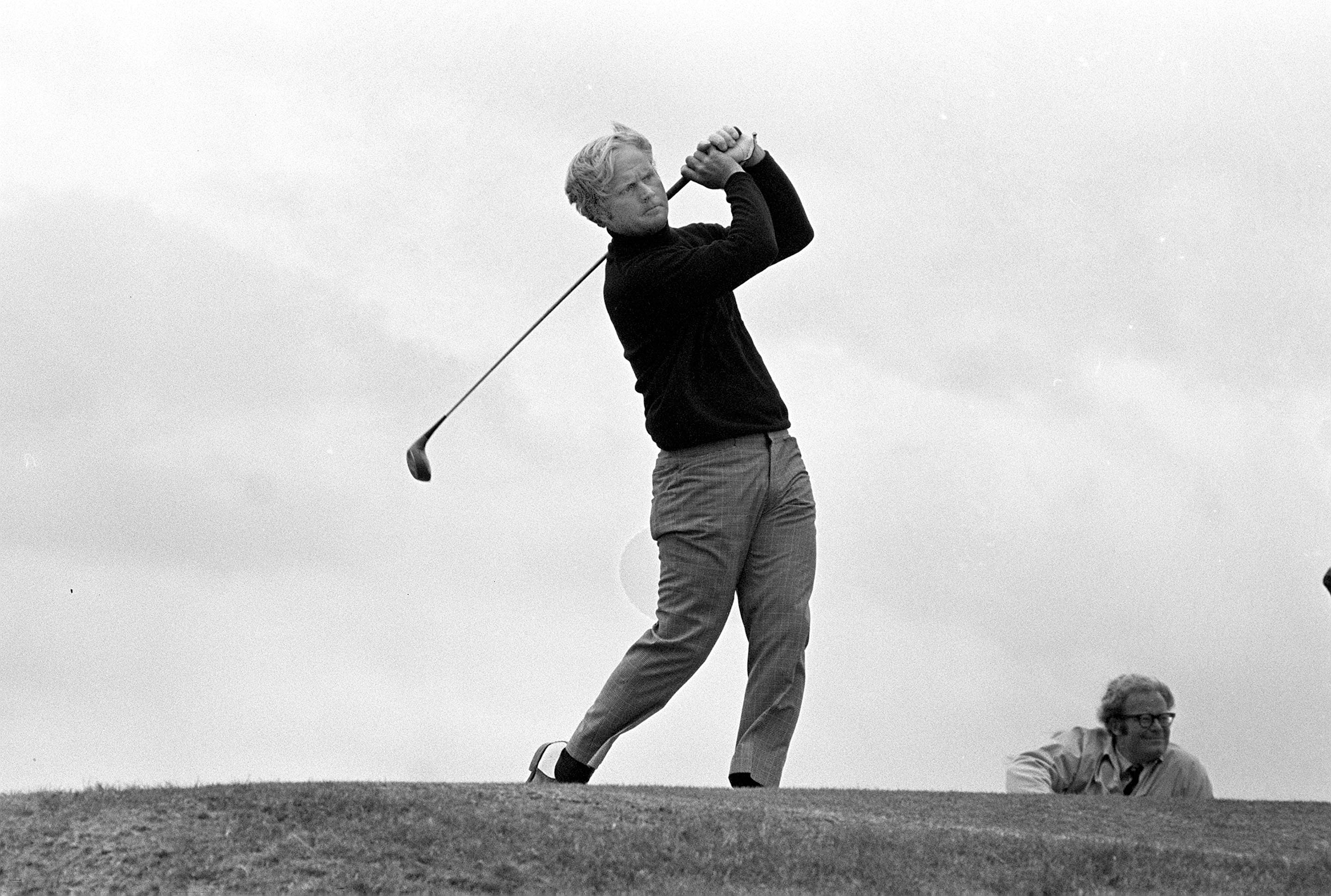Jack Nicklaus at the '70 Open at St. Andrews.