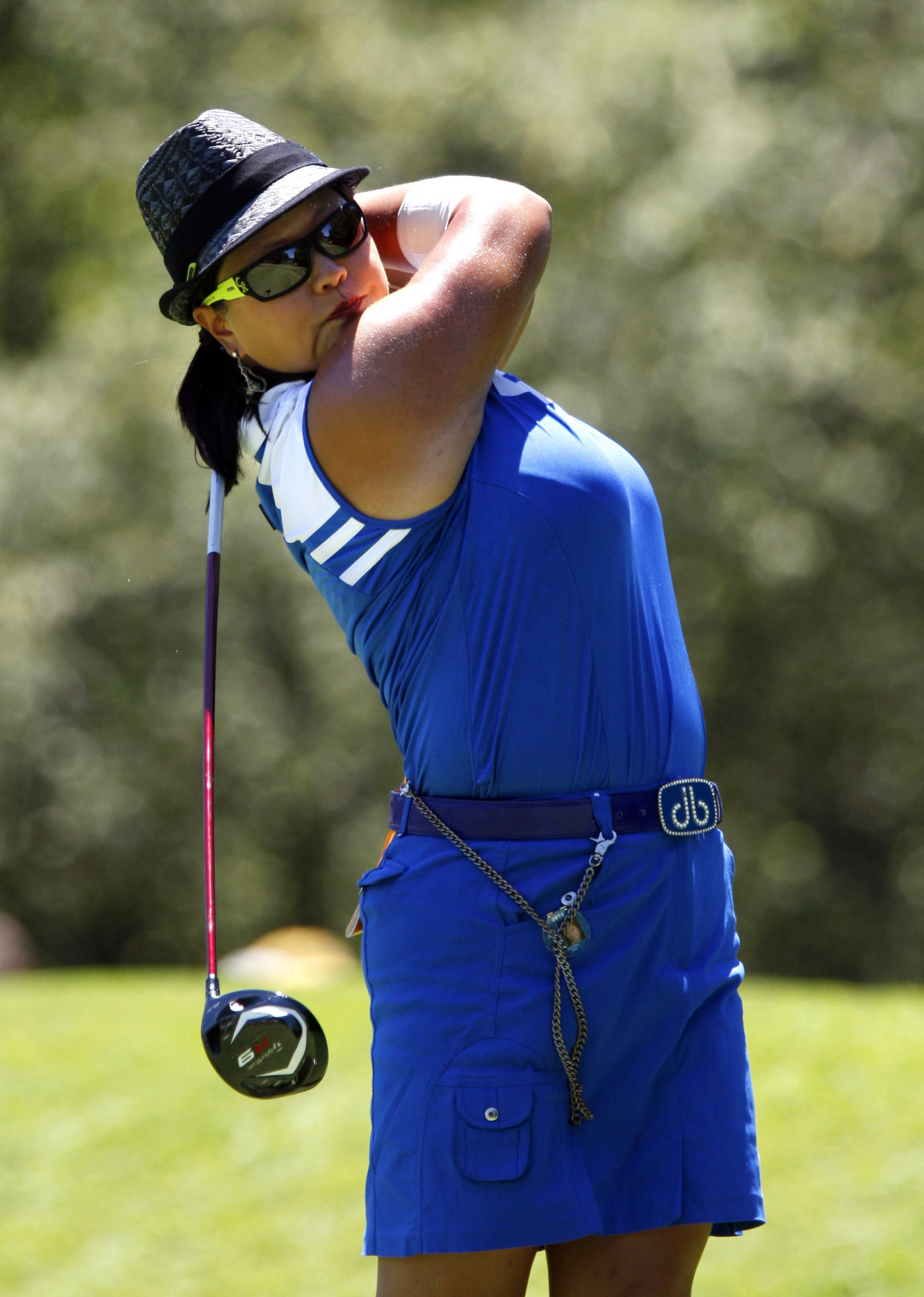 Christina Kim during the third round of the Jamie Farr Owens Corning Classic.