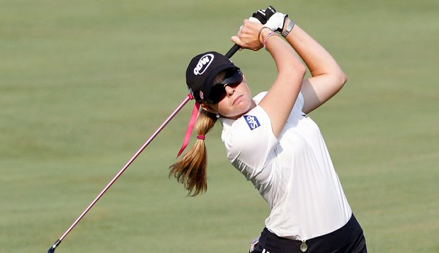 Paula Creamer during Round 1 of the U.S. Women's Open.