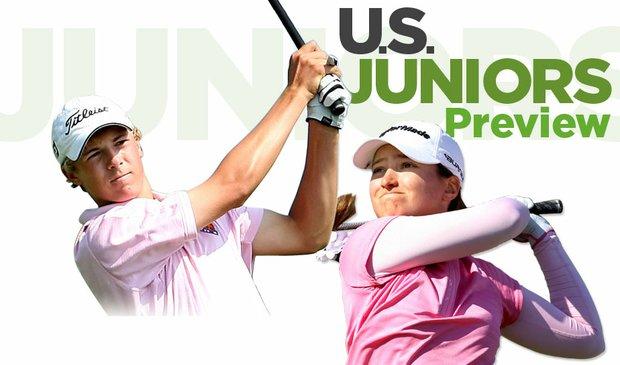 Jordan Spieth and Victoria Tanco highlight the 2010 U.S. Juniors.