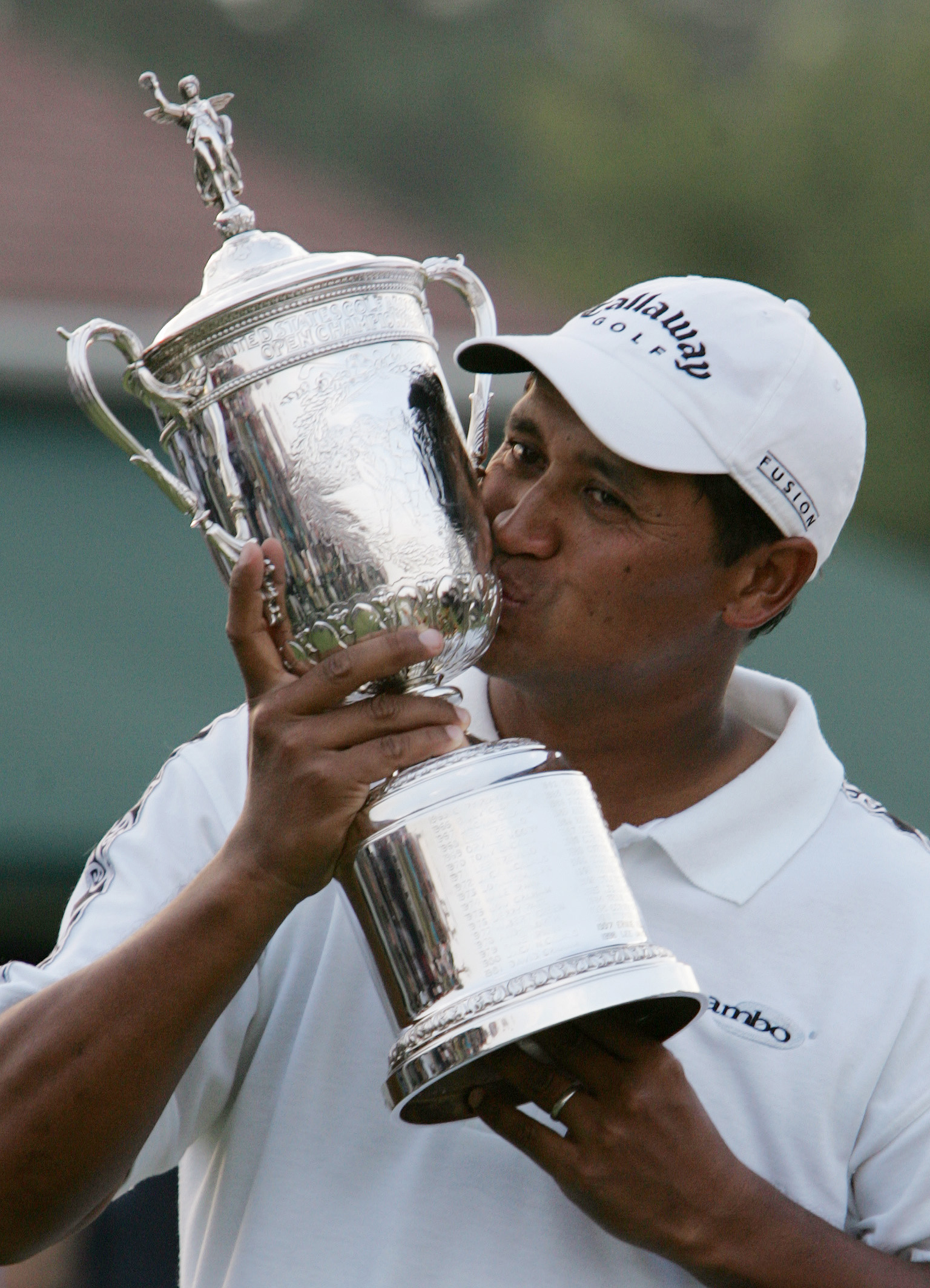 Michael Campbell after winning the U.S. Open in 2005.