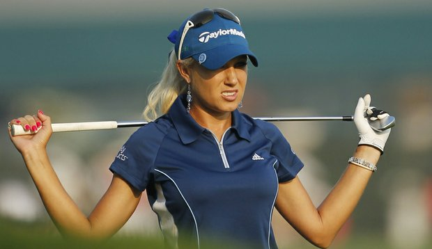 Natalie Gulbis during the second round of the U.S. Women's Open.