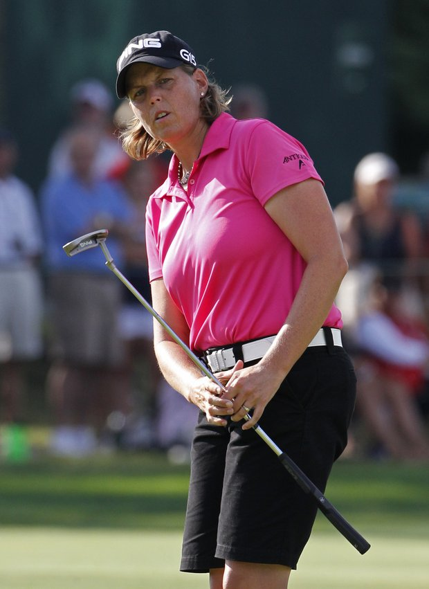 Wendy Ward will enter the final day of play at the U.S. Women's Open three shots behind leader Paula Creamer.