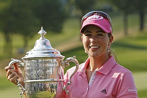 Paula Creamer won the U.S. Women's Open at Oakmont