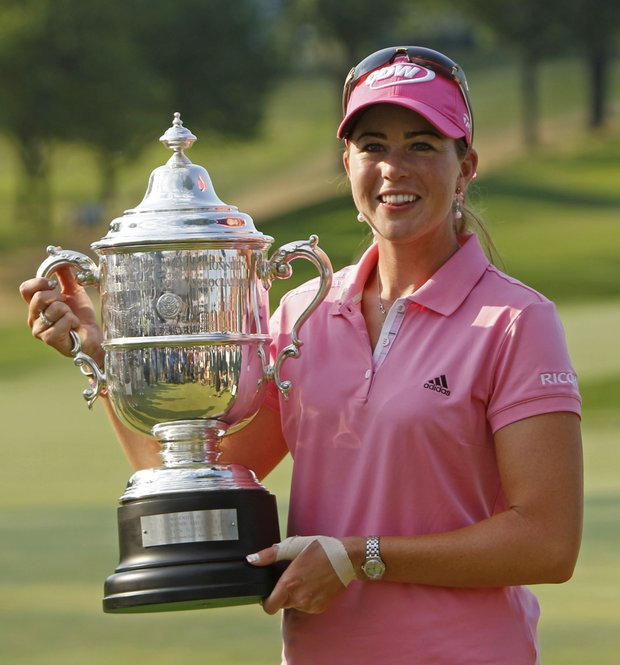 Paula Creamer won the U.S. Women's Open at Oakmont