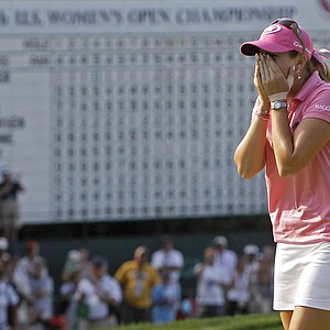 Paula Creamer won the U.S. Women's Open on July 11.