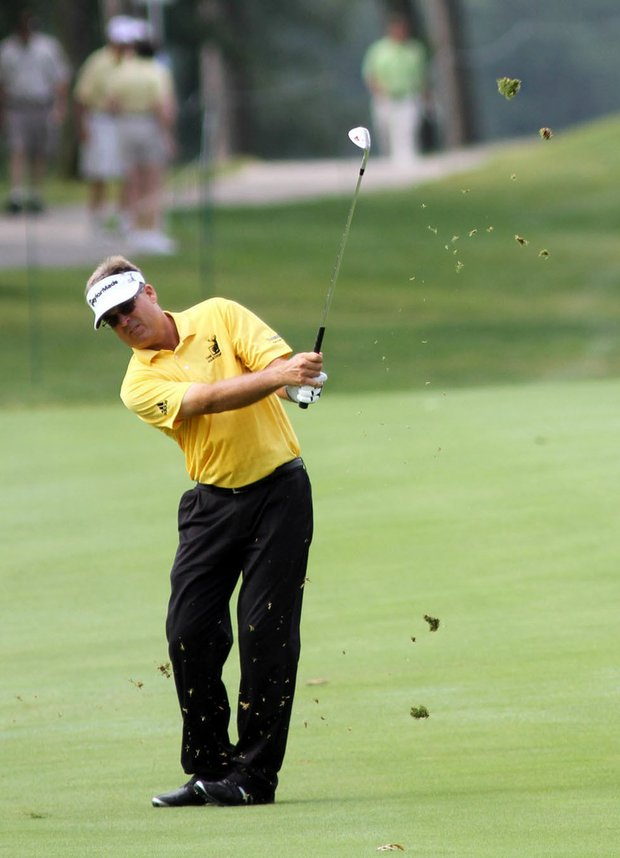 Kenny Perry made his Champions Tour debut in 2010.