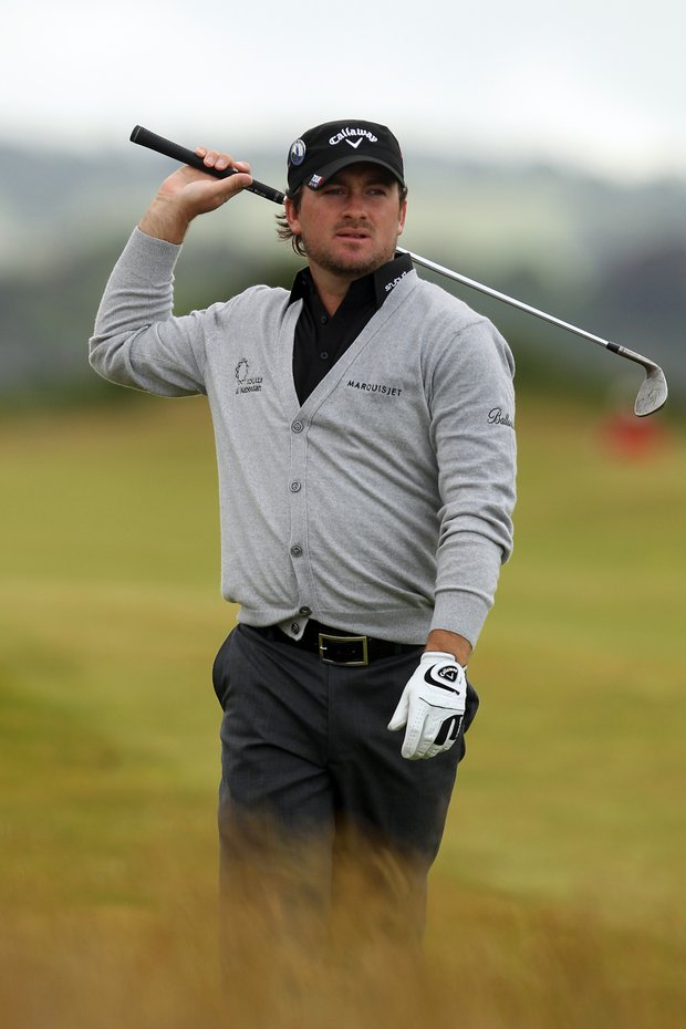 Graeme McDowell during Round 2 of the British Open at St. Andrews.