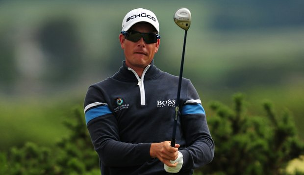 Henrik Stenson is in position to capture Sweden's first major championship on the men's side.