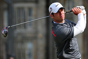 Paul Casey during Round 3 of the British Open.