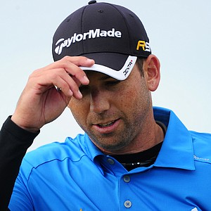 Sergio Garcia shot 2-under 70 in Round 3 of the British Open.