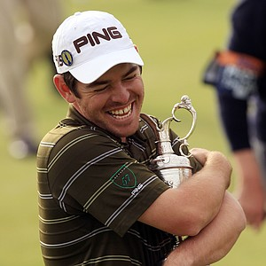 """""""I lost my temper quite a bit four or five years ago on the course. I got to the stage where I realized it's not helping anything. It's a matter of just enjoying yourself."""" - Louis Oosthuizen on his change in approach on the course prior to winning his first major at the 2010 British Open"""