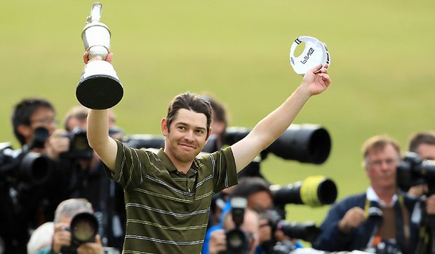 Louis Oosthuizen of South Africa will need to get accustomed to cameras and reporters following a sensational rise to the top.
