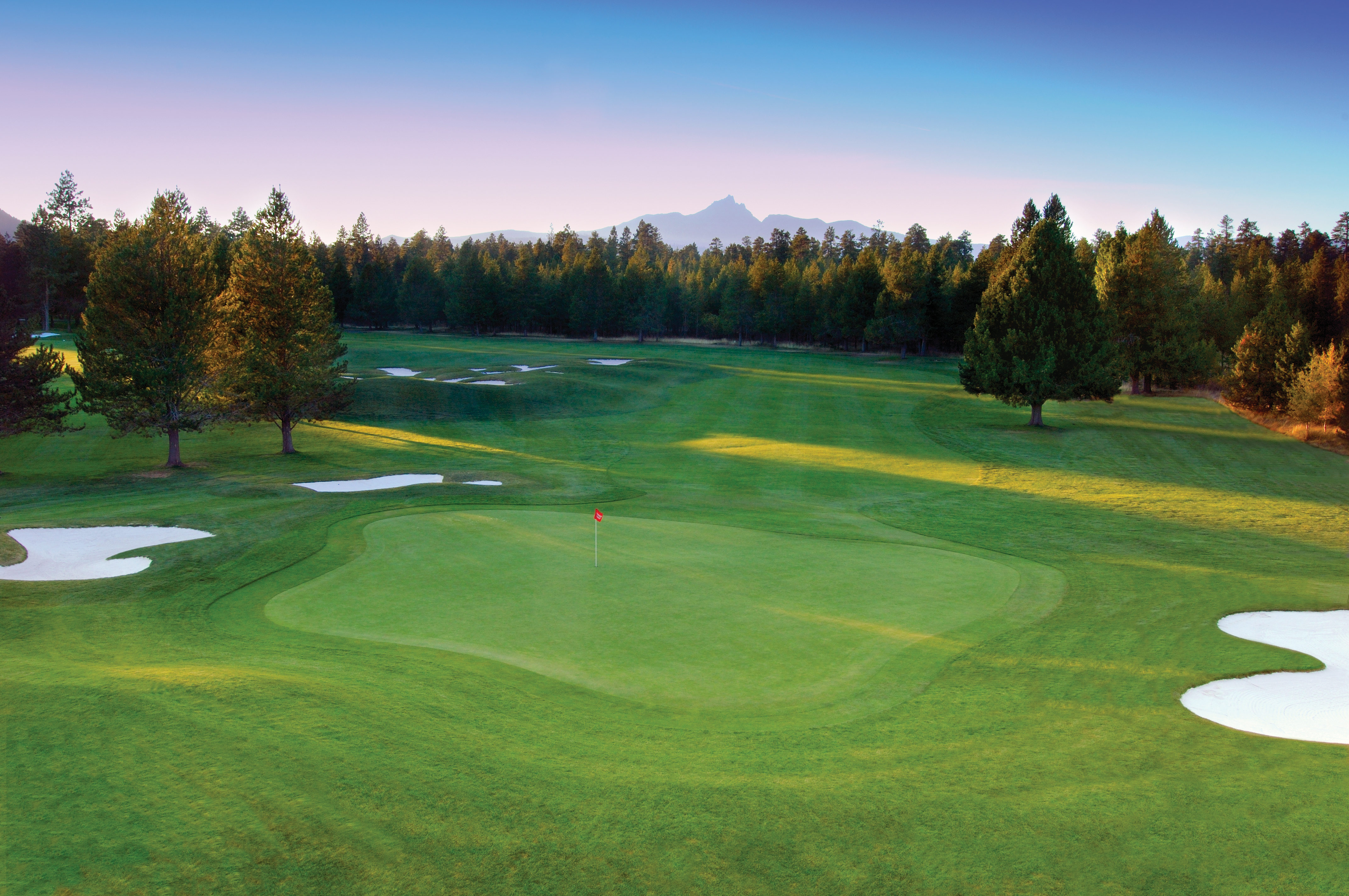 No. 9 at Black Butte Ranch's Big Meadow course
