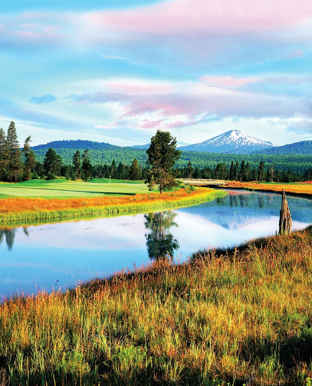 No. 9 at Sunriver's Crosswater course