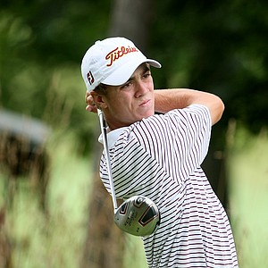Justin Thomas of Goshen, Ky., shot a 68 during Tuesday stroke play.