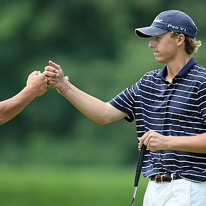 Jordan Spieth of Dallas, TX. shot a 68 to post a stroke play total of 135.