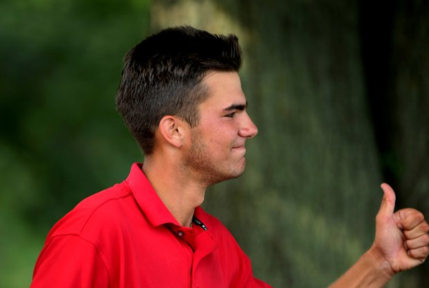 Curtis Thompson of Coral Springs, Fla., posted a 66 to take medalist honors from Gavin Hall and Jordan Spieth at the 63rd U.S. Junior Amateur.