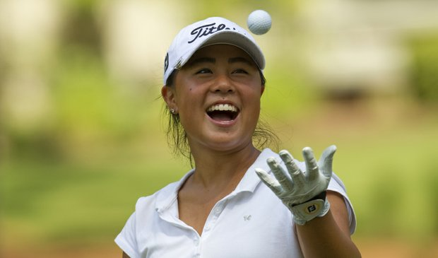 Danielle Kang held off No. 64 seed Alejandra Cangrejo to advance to the Round of 32 at the U.S. Girls' Junior Amateur.