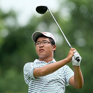 Jim Liu defeated Davis Womble, 8 and 7 during Wednesday's Round of 32.