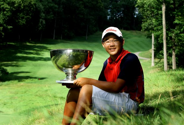 Jim Liu won the 2010 U.S. Junior Amateur at Egypt Valley Country Club in Ada, Mich., knocking off Tiger Woods as the youngest to win the championship.