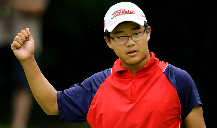 Jim Liu became the youngest U.S. Junior Amateur champion in history with a win over Justin Thomas.