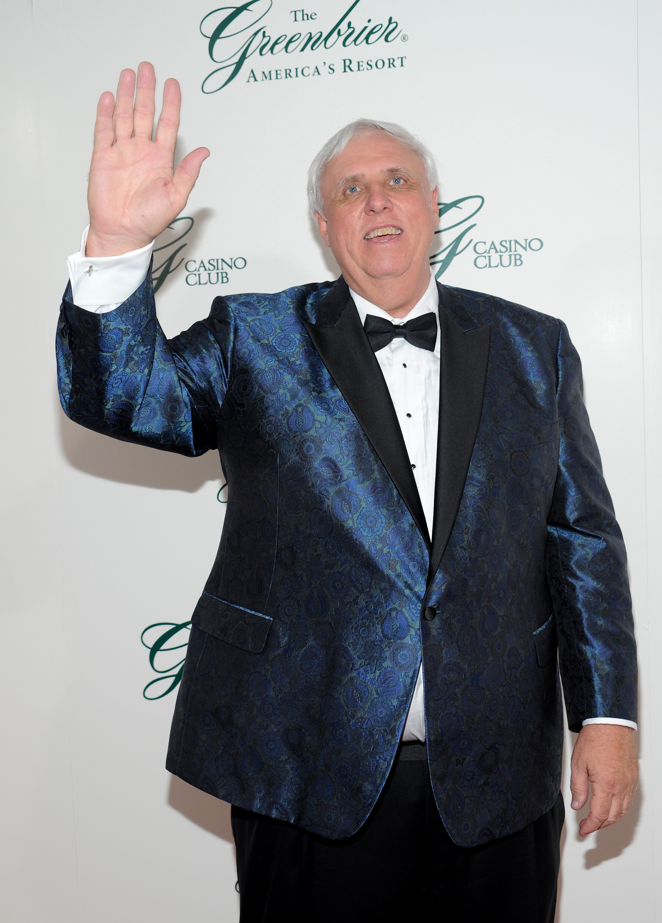 Jim Justice attends the gala opening of The Greenbrier Casino Club on July 2.