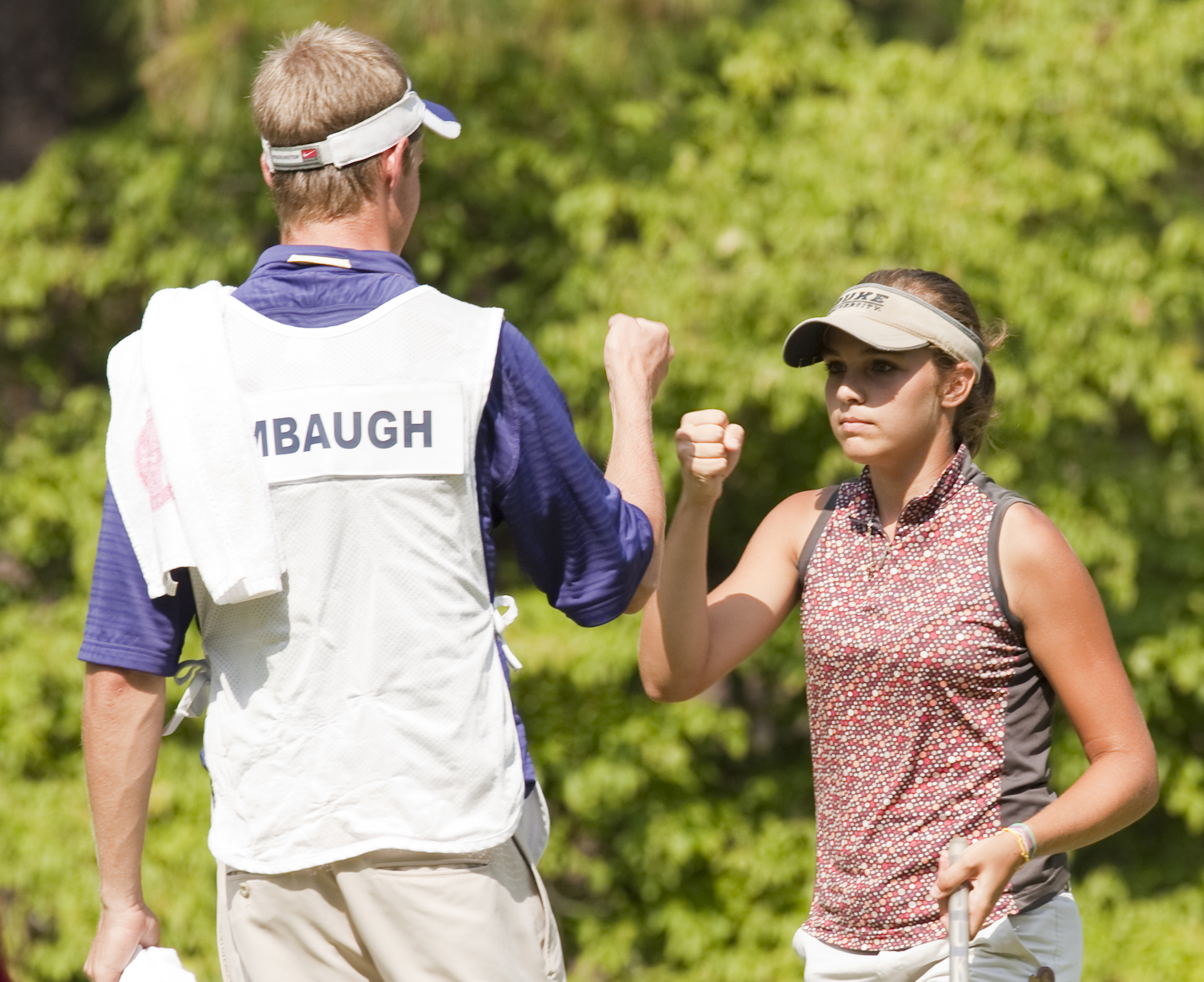 Katelyn Dambaugh during the championship match at the U.S. Girls' Junior.