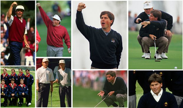 Fred Couples played in five Ryder Cups from 1989-1995.