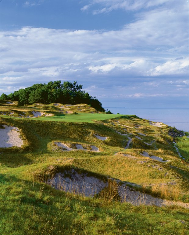 At Whistling Straits, players will have to contend with plenty of bunkers.