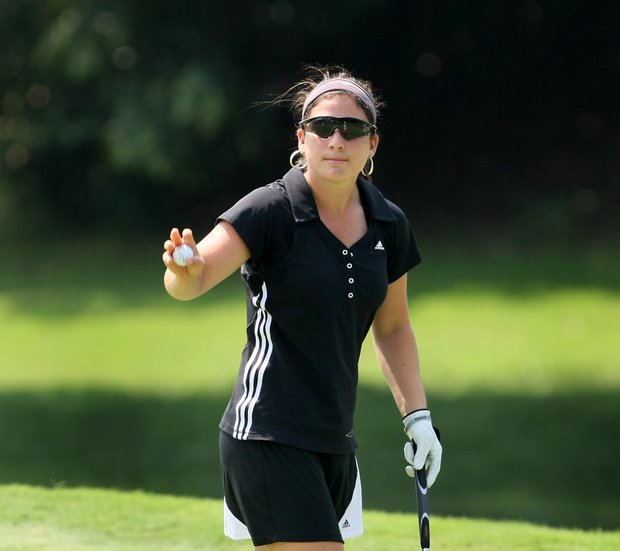 Rachel Rohanna posted a 65 during Monday stroke play of the 2010 Women's Amateur. That beats the previous record by one stroke.